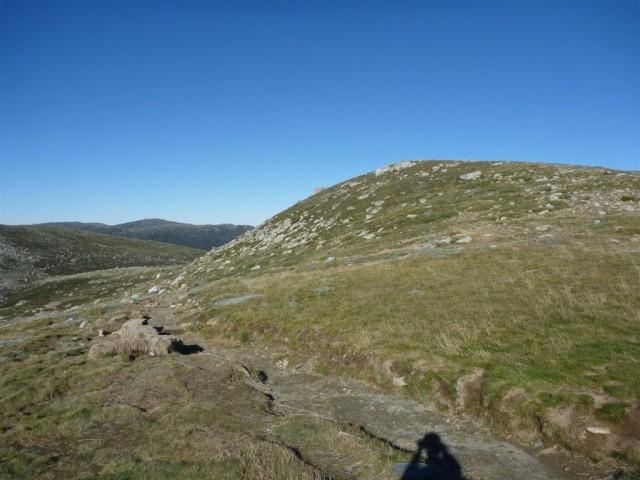 Headley Tarn from the Main Range Track